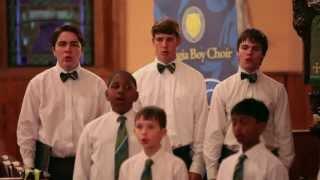 The Georgia Boy Choir - Hark, I Hear the Harps Eternal