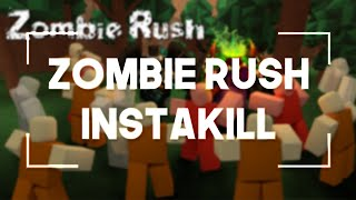 Roblox Hacks/Exploit : Zombie Rush Instakill