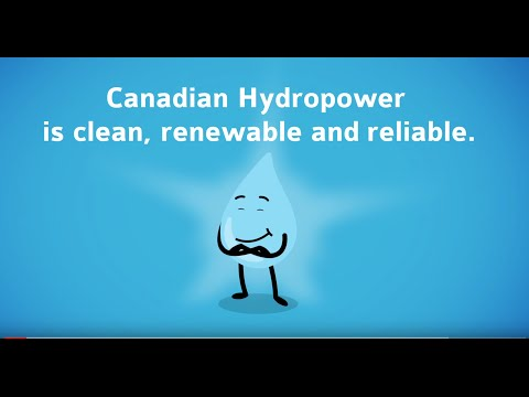 Canadian Hydropower: Clean, renewable and reliable.