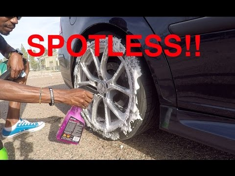 How to Properly Clean Your Wheels and Tires + Surprise!
