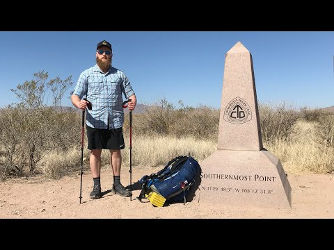 CDT 2018 Thru Hike ep. 1 Crazy Cook Monument to Lordsburg, NM