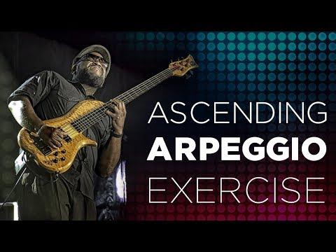 ASCENDING ARPEGGIO EXERCISE | Bass Guitar Tips, Tricks & Licks ~ Daric Bennett's Bass Lessons