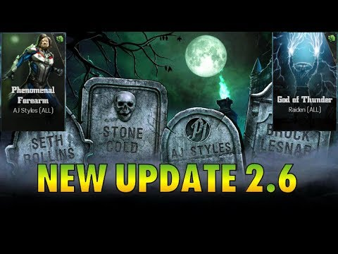 WWE Immortals - BRAND NEW UPDATE NEW CHARACTERS!