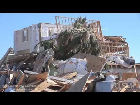 10/13/2018 Mexico Beach, Florida Catastrophic Hurricane Michael Damage