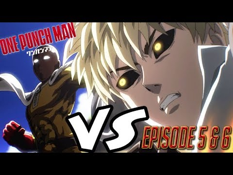 one punch man episode 5 6 reaction youtube
