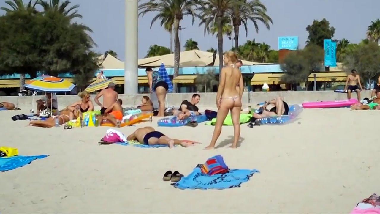 "Нудистский пляж - Майорка - Cala Fornells, ""Petit Paradis"" - MALLORCA - Nudista Beach"