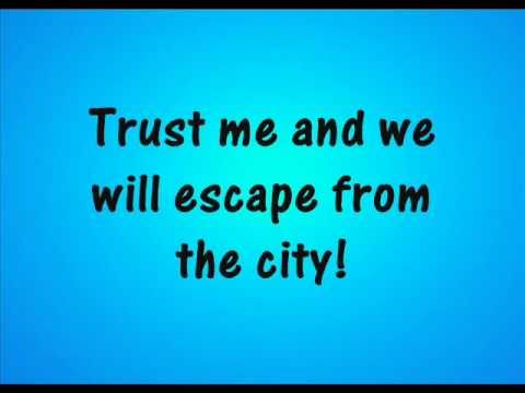 Sonic Generations - Escape From The City (Classic Remix) - Lyrics On Screen