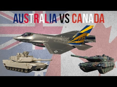 Australia & Canada: Military Equipment & Modernization Programs [MILITARY COMPARISON 2020]