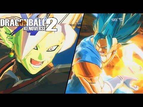 Merged Zamasu Vs Super Saiyan Blue Vegito! Gods Vs Mortals Pack 1   Dragon Ball Xenoverse 2 Mods
