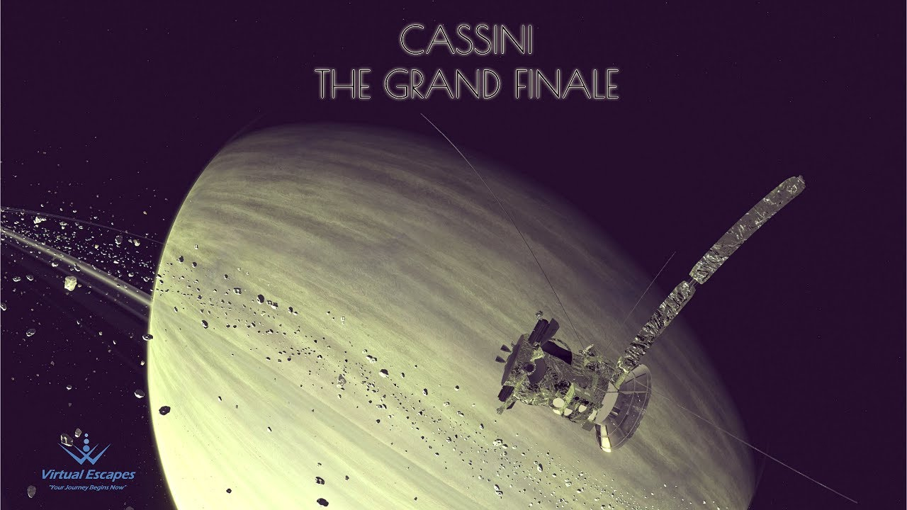 Cassini: The Grand Finale ***NOW IN 3D!!!*** - YouTube