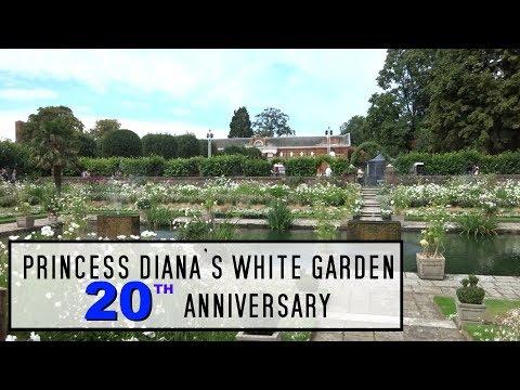 Princess Diana's home. Her 20th anniversary Garden.