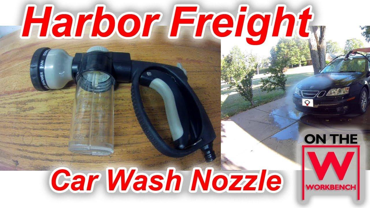 Harbor Freight Car Wash Nozzle Youtube