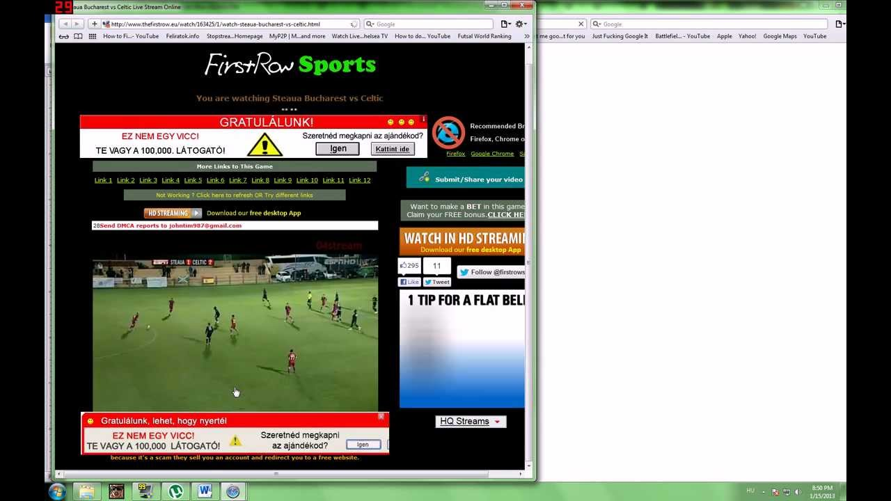 Firstrowsports Tv