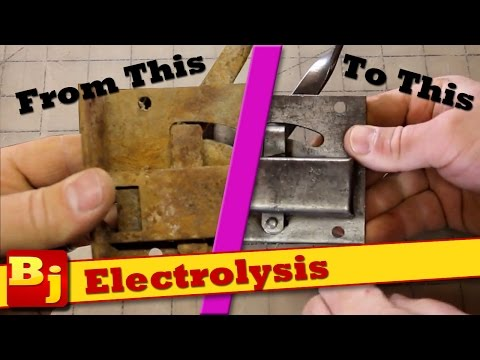 Remove Rust With Electrolysis - YouTube
