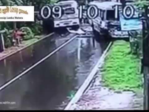 footage of Defender crash accident Sri lankan funny video by gossip lanka  matara