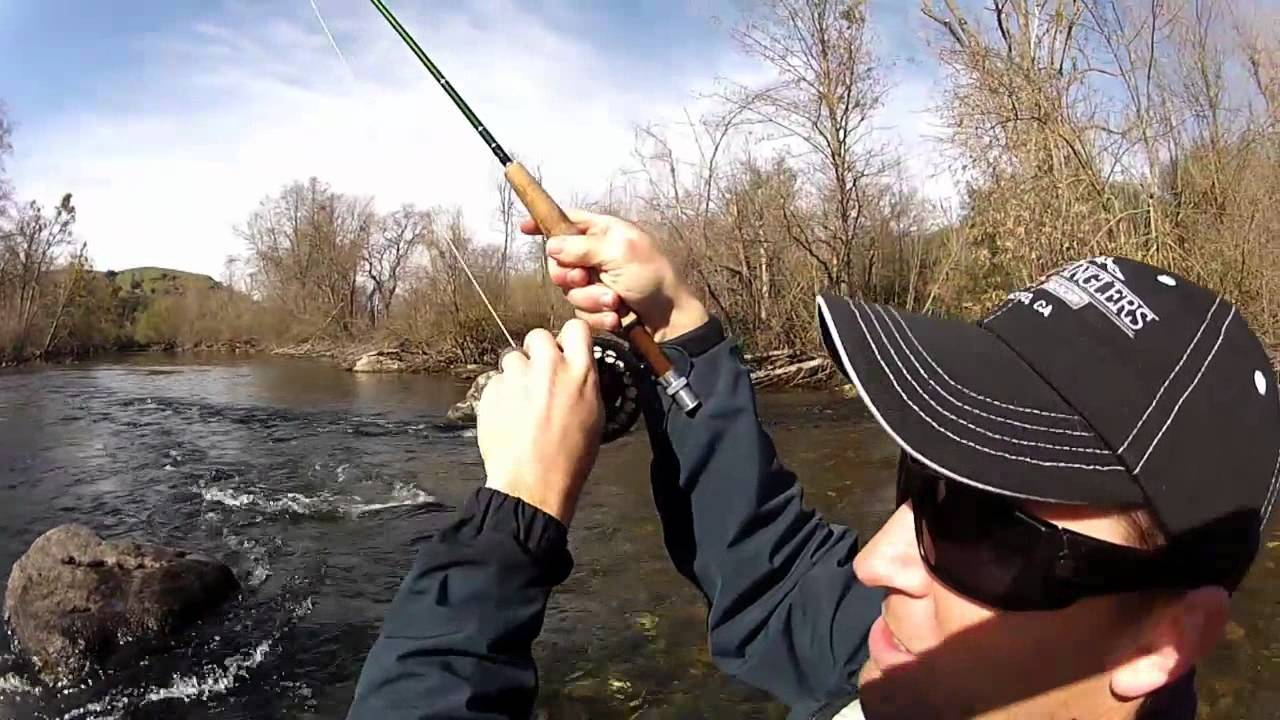 Lower stanislaus river fly fishing gopro hd youtube for Stanislaus river fishing
