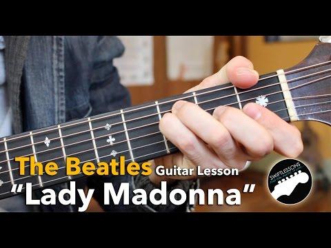 """""""Lady Madonna"""" Beatles Acoustic Guitar Lesson"""