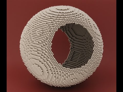 Tutorial - Solid Surface Hollow Sphere (Zen Magnets)
