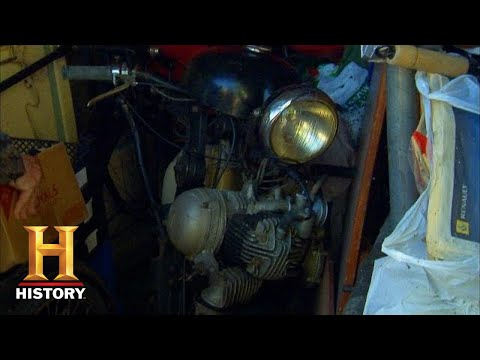 American Pickers: Very High Offer For Rare Motorcycle (Season 10) | History