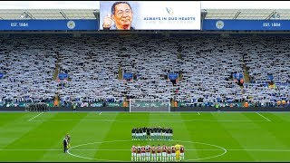 Minute's Silence At King Power Stadium | Leicester City vs. Burnley
