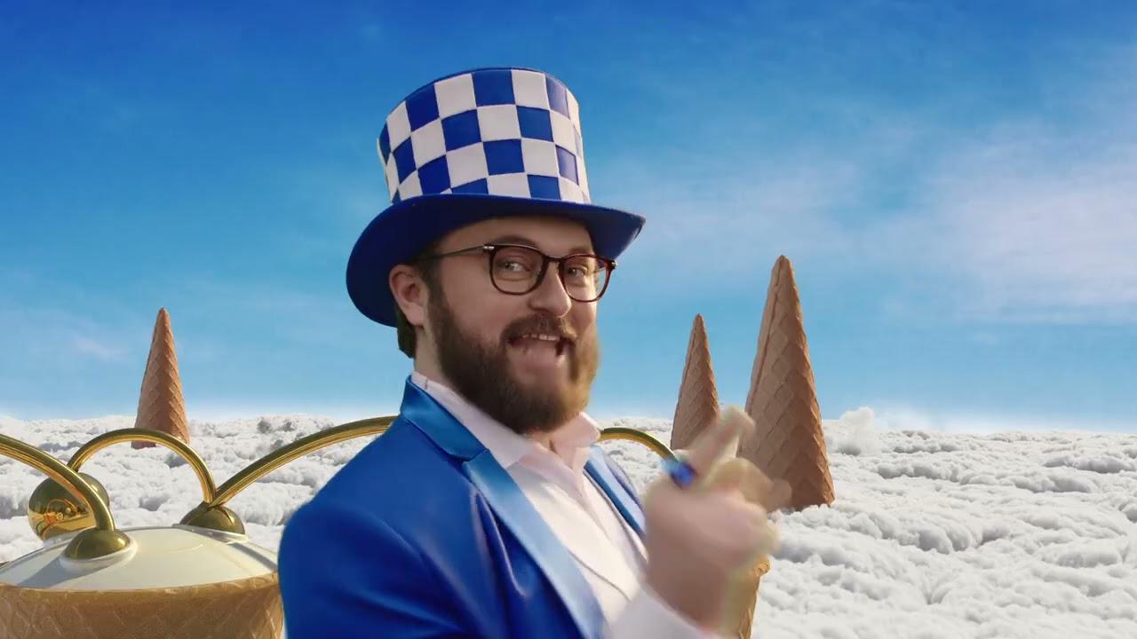 Украинская реклама мороженое Хрещатик Дзидзьо 2021
