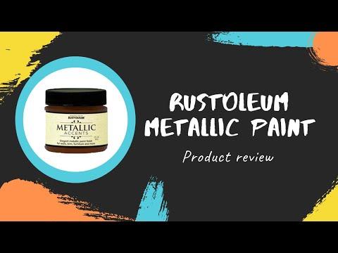 Rustoleum Metallic Paint Review
