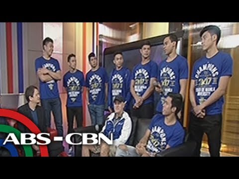 ANC Hardball: Blue Eagles share their thoughts about the DLSU Green Archers' performance