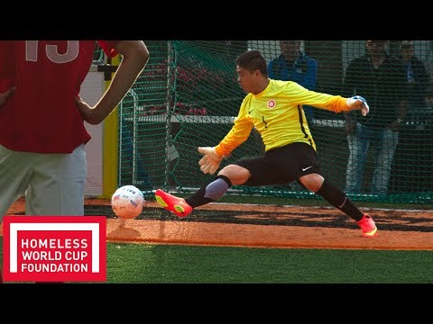 Best Saves Compilation! | Men's Homeless World Cup | Oslo 2017