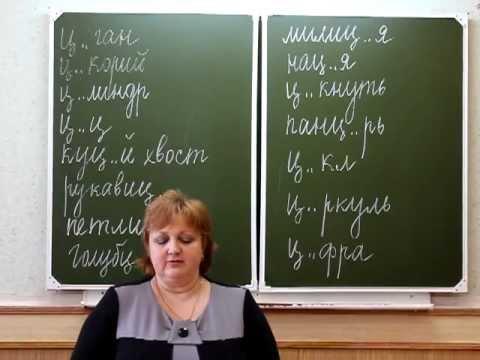 Видеоурок по русскому языку в 5 классе