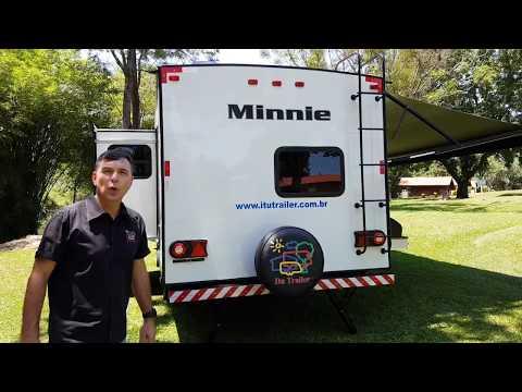Trailer Winnebago Minnie 2455BHS, Ano 2018.