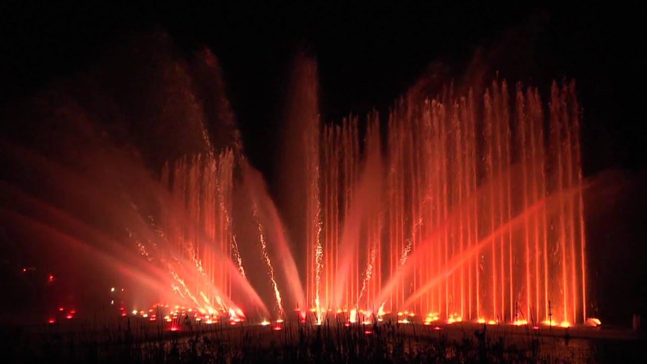 Wasserspiele Planten Un Blomen Hamburg Hd Youtube