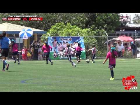 Club Libertad VS Chivas Rio - Final Liga Menor Tijuana - Futbol Tijuana