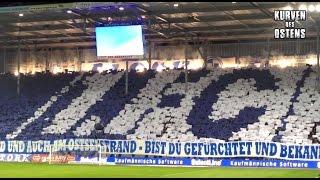 1. FC Magdeburg 0:3 FC Erzgebirge Aue 01.04.2016   Choreo, Pyro & Support