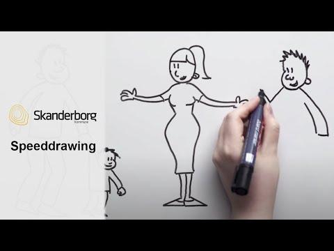 Speeddrawing - Skanderborg Kom. 3.0