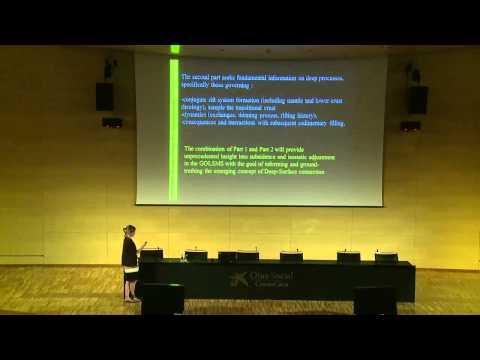 Marina Rabineau (U. Brest, France)  - Barcelona 2014 Topo-Europe - a giant saline basin