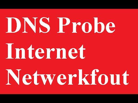 DNS Probe Oplossing Internet Netwerkfout