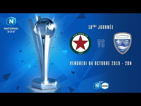 10e journée : Red Star - Avranches I National FFF 2019-2020