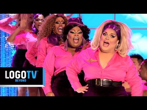 RuPaul's Drag Race | Ginger Minj's Team: Glamazonian Airways | Season 7