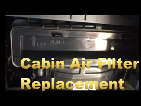 How To Replace Cabin Air Filter For 2011 2014 Subaru