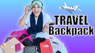 Airplane Carry On Favorites   |  Whats In My Travel Bag  |  Packing Hacks