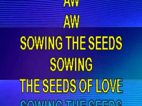Tears For Fears- Sowing The Seeds Of Love KARAOKE