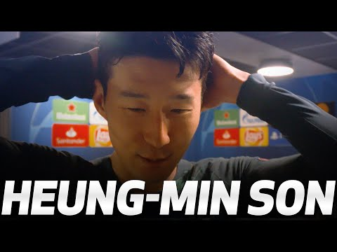 HEUNG-MIN SON REACTS TO REACHING THE UEFA CHAMPIONS LEAGUE FINAL