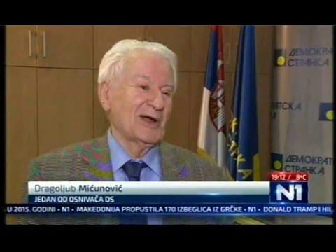 Dragoljub Mićunović za TV N1 o Vučićevom otkrivanju spomenika Pekiću: Ovo je kulturni skandal