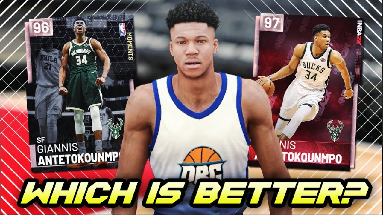 e25a3567d NBA 2K19 NEW PINK DIAMOND GIANNIS GAMEPLAY! | BETTER THAN THE OTHER PINK  DIAMOND IN NBA 2K19 MyTEAM?