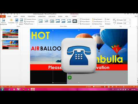 How to Create a Tourism Logo in PowerPoint