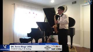 Darren Bingyi Qiu – Etude Ferling 18