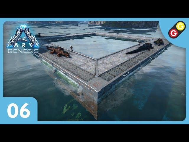 ARK : Survival Evolved - Genesis #06 On déménage dans le biome océan ! [FR]