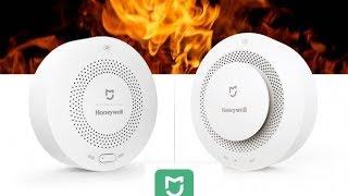 Обзор на датчики дыма и газа Xiaomi Mijia Honeywell Gas and Fire Alarm Detector