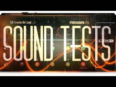 {Line 6} Firehawk FX Sound tests | Alex Machado