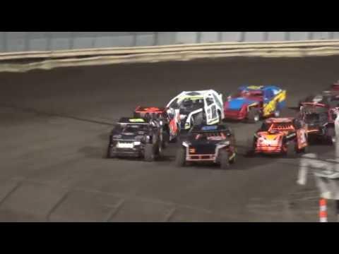 IMCA Sport Mod Heats Lee County Speedway 8/19/16